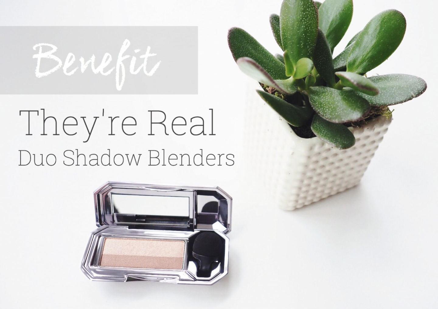 Benefit They're Real Duo Shadow Blenders | review
