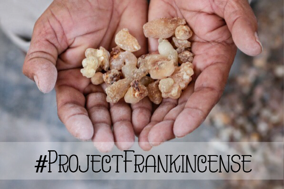 Neal's Yard: Project Frankincense