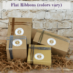 Gift Wrapping: 4 Gifts with Flat Ribbons