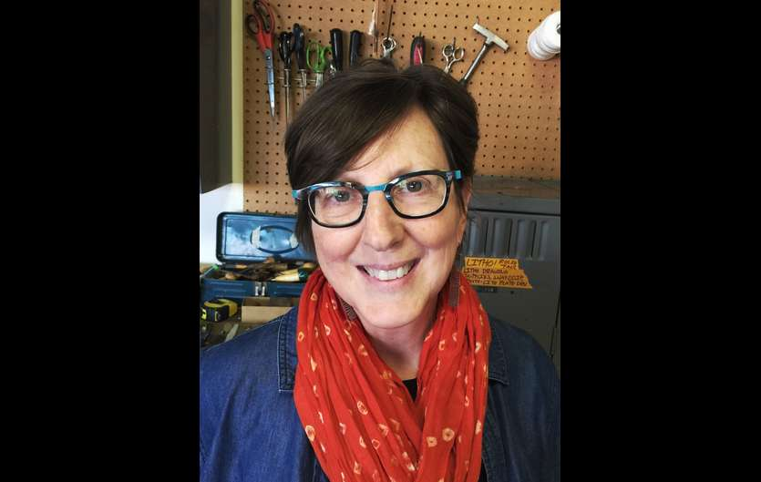 Dayton artist Gretchen Jacobs has been commissioned to create a painting to be displayed in the new Dayton Metro Library.