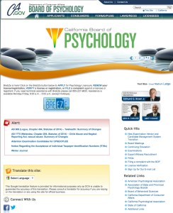 Psych website
