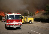 wildfire-and-fire-trucks