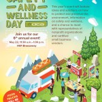 DCA's Earth Safety and Wellness Day flyer