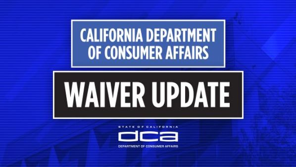 DCA Waiver Update Graphic