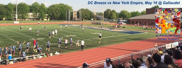 Breeze vs New York 5/16/2015