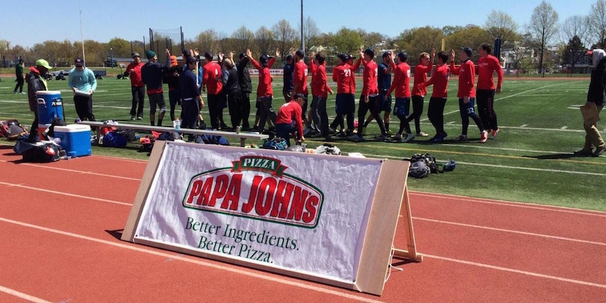 Papa John's, DC Breeze Announce 2017 Partnership