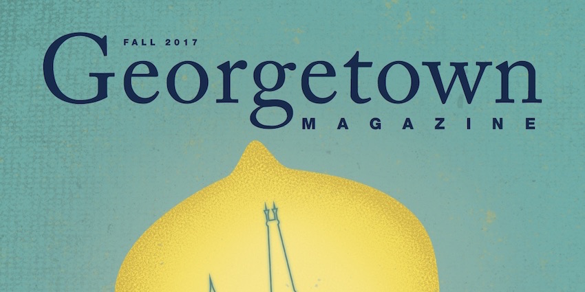 Georgetown University Magazine Features The Breeze