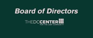 Statement from the DC Center Board of Directors