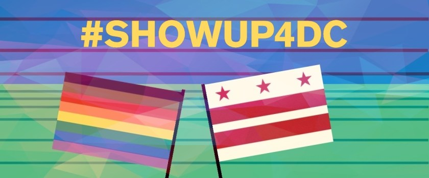 #ShowUp4DC