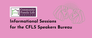 CFLS to Hold Speaker Training for Women Survivors