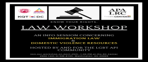Know Your Rights, Law Workshop