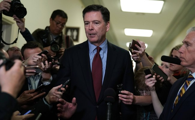 Unbiased James Comey Calls On Americans To Vote Trump Out