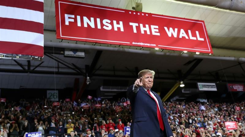 President Trump Declares National Emergency to Build The Wall
