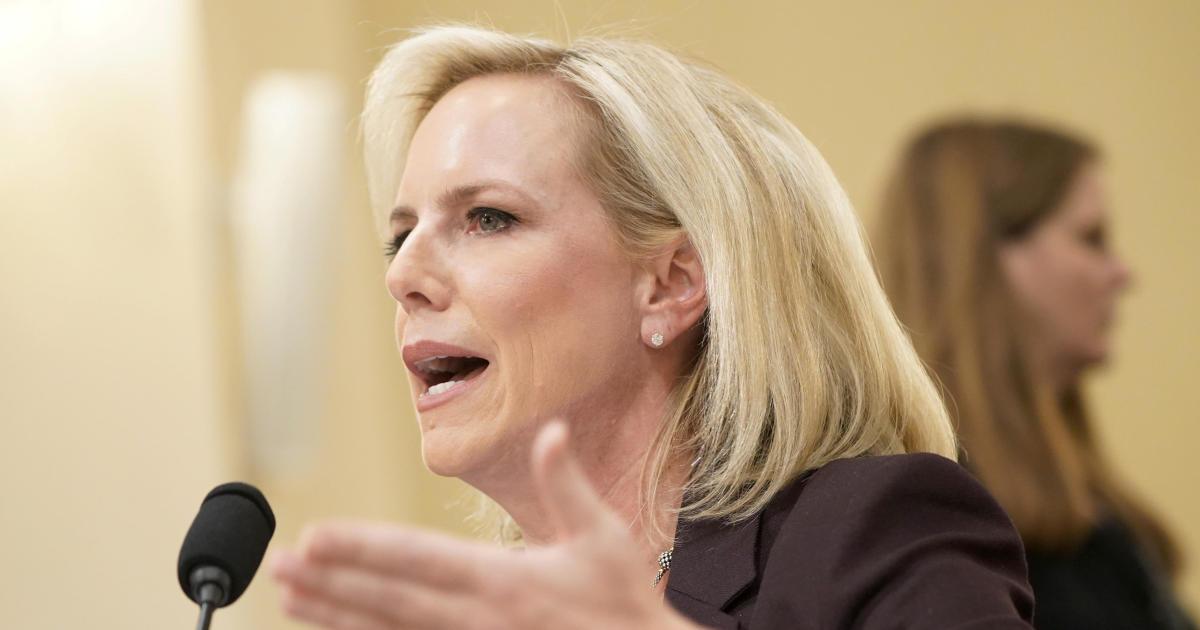 DHS Secretary Shreds Congressional Members on Border
