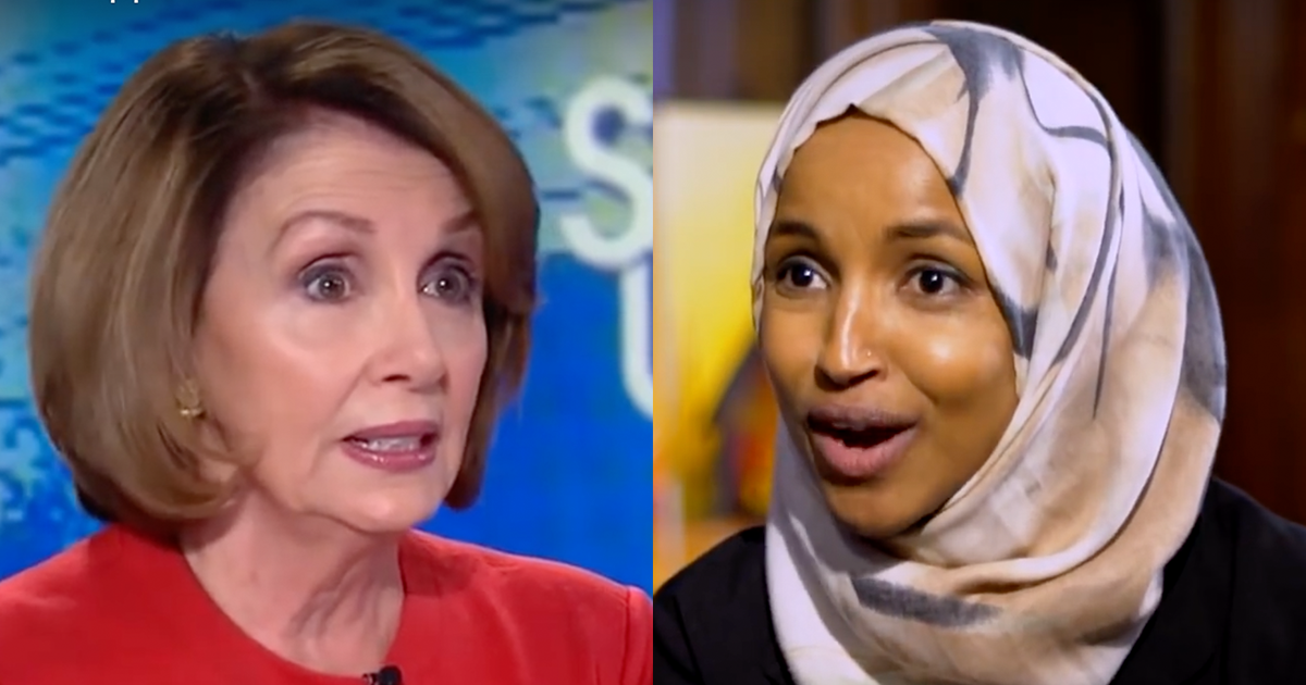 Pelosi Playing Damage Control Over Ilhan Omar's Rants
