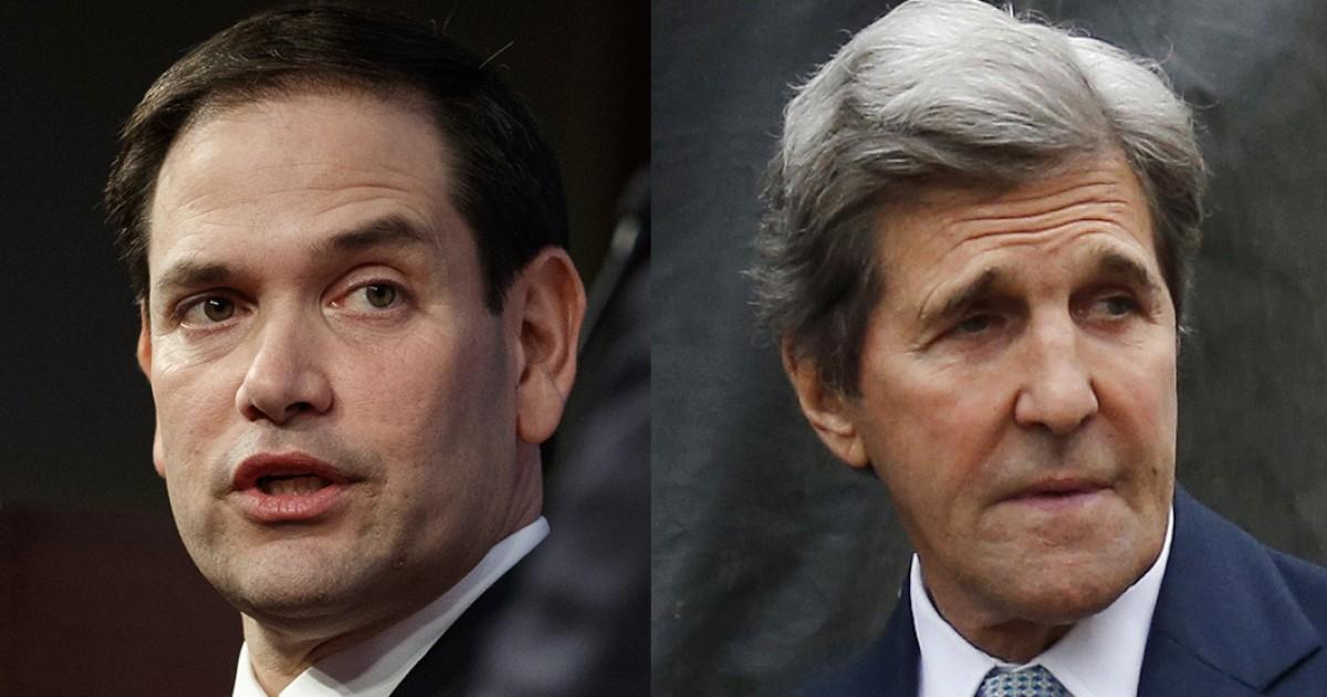 RUBIO to BARR 'Investigate John Kerry Over Iran Deal'
