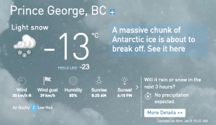 -13, FEELS LIKE -23 with the wind!