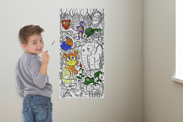 """MailPix Coloring Wallpaper featured on """"Today Show"""""""