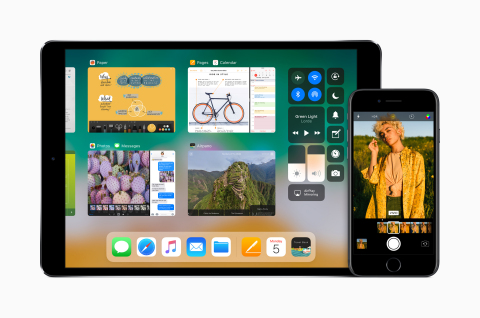 iOS 11 Brings Powerful New Features to iPhone & iPad This Fall
