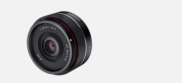 Samyang Optics announces third AF lens: AF 35mm f2.8 FE