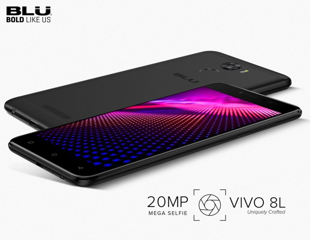 BLU Introduces Its Newest Smartphone With The Ultimate Selfie Experience, The BLU VIVO 8L. The Latest Addition To Its Sleek VIVO Series