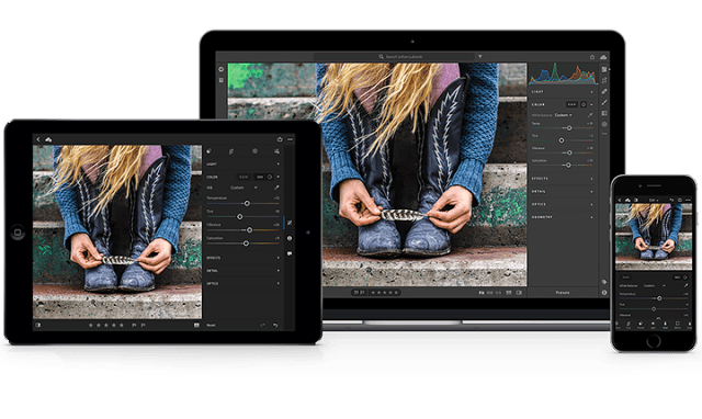 Adobe introduces new Lightroom CC Cloud Photography Service
