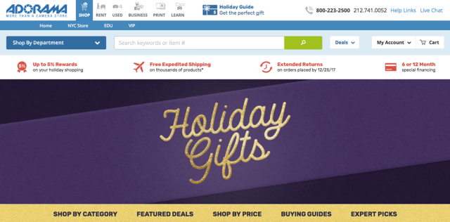 Adorama Holiday Gift Guides Delight Tech Shoppers of all Varieties