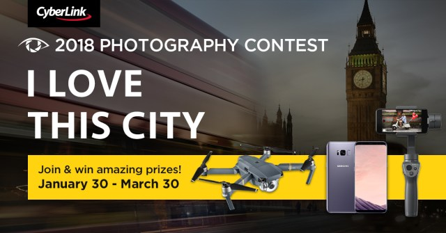 """CyberLink announces """"2018 I Love This City"""" photography contest"""