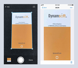 Dynamsoft Camera SDK for iOS debuts to easily enable document capture from iPhones