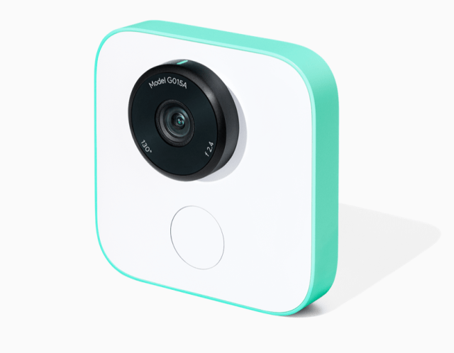 Google launches Google Clips wireless smart camera