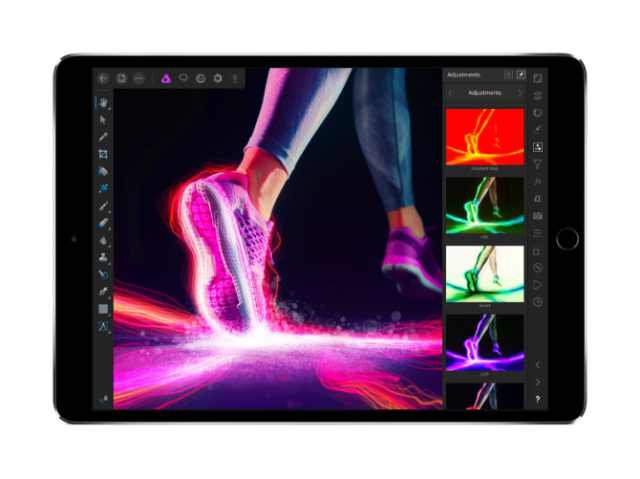 Affinity Photo for iPad includes even more powerful professional features