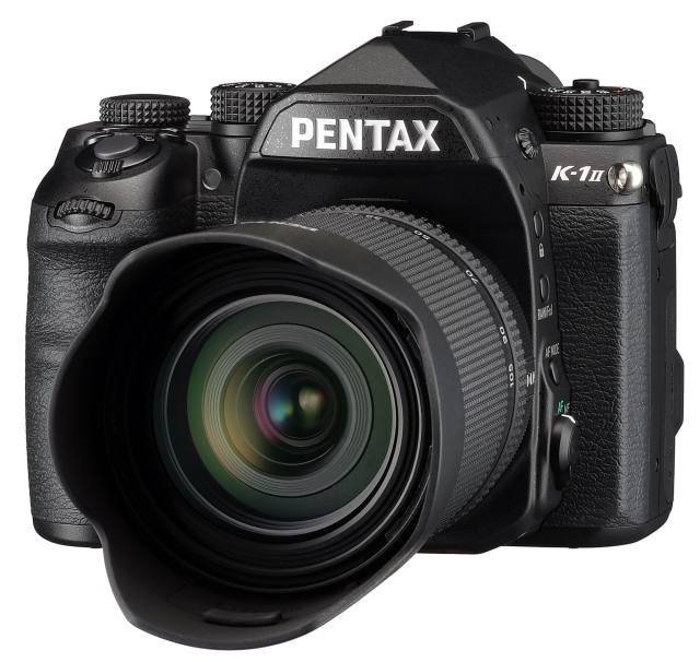 Ricoh debuts PENTAX K-1 Mark II 35mm full-frame digital SLR camera