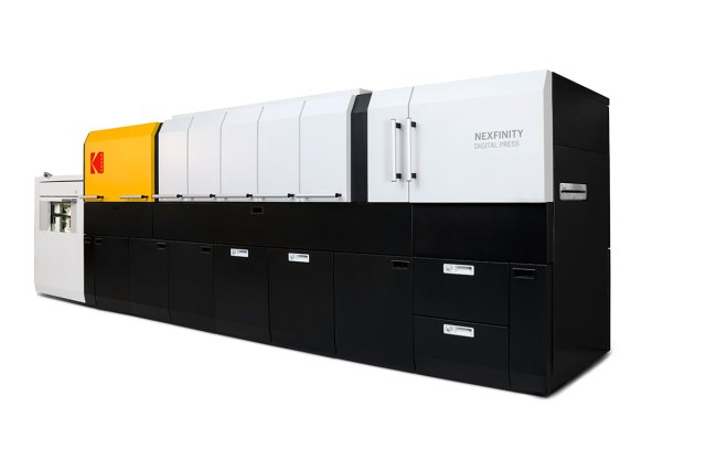 Kodak launches the NEXFINITY Digital Press Platform, dramatically improving the versatility of digital printing