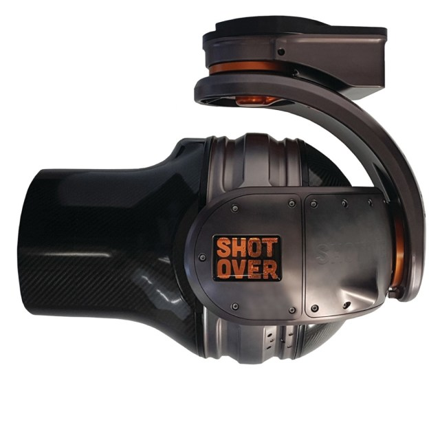 SHOTOVER debuts the industry's most versatile lightweight aerial camera system