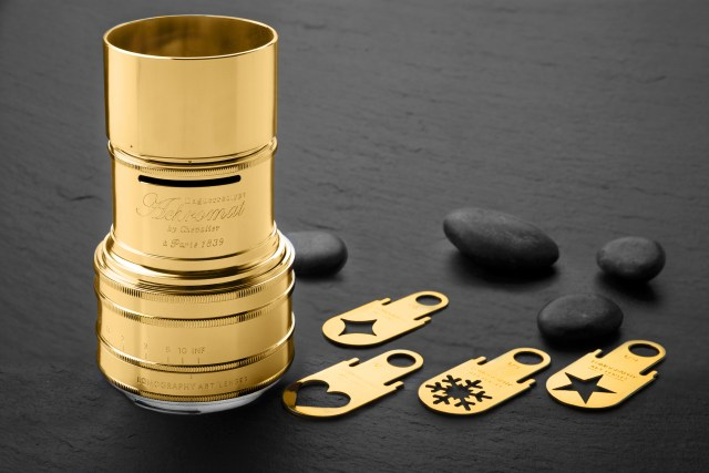 Lomography launches gold-plated Achromat art lens