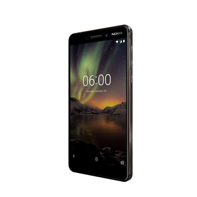 The Nokia 6.1 arrives in the United States