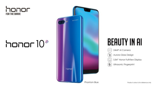 Honor launches Honor 10 flagship phone with AI