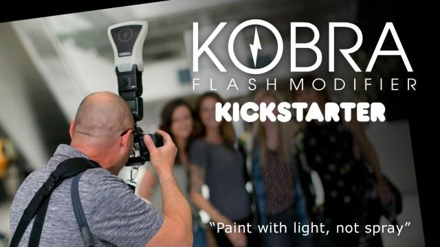 Red Tusk relaunches KOBRA Flash Modifier on Kickstarter