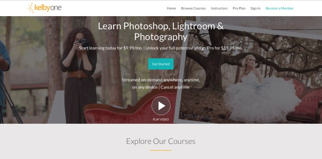 KelbyOne launches new subscription plan: 300+ courses for $10 a month
