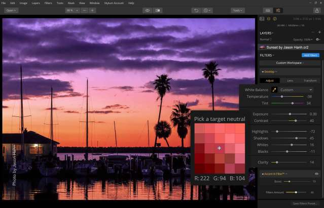 Skylum adds features to Luminar, plans DAM integration in the fall