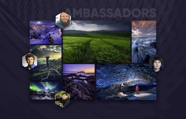 Skylum adds four globe-trotting landscape  photographers to its ambassador team