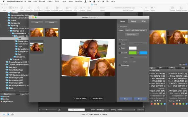 Image Utility GraphicConverter 10.6.3 adds new import and filter options