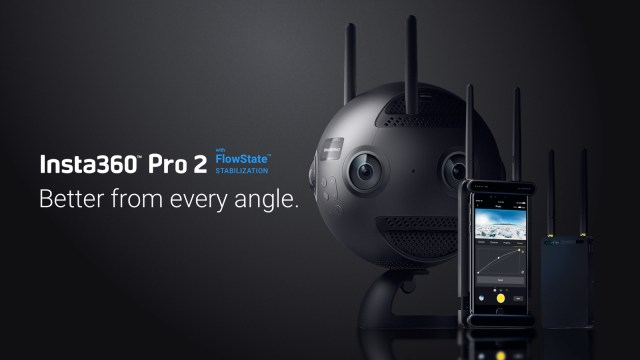 Insta360 Pro 2 launches with 8K 3D, FlowState stabilization, simplified VR workflow