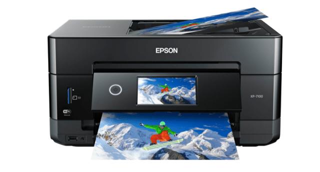 Epson announces new Expression Premium XP-7100 small-in-one printer