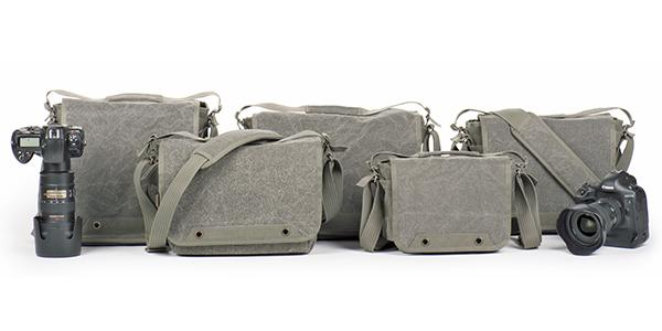 Think Tank Photo's upgraded retrospective shoulder bags feature increased photography gear security and lighter weight
