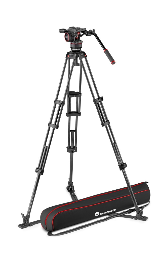 Manfrotto debuts two twin-leg video tripods