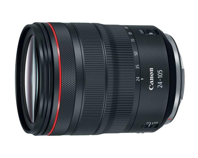 Canon introduces four RF Mount lenses