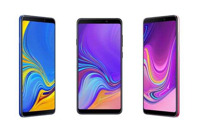 Samsung debuts Galaxy A9 smartphone with four rear cameras