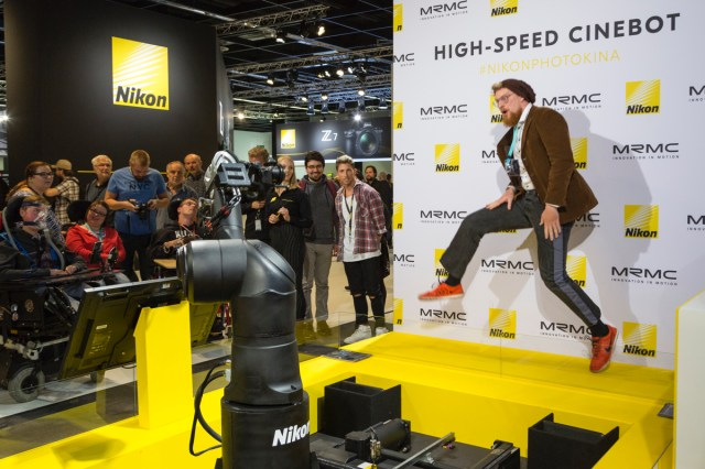 Nikon at photokina.