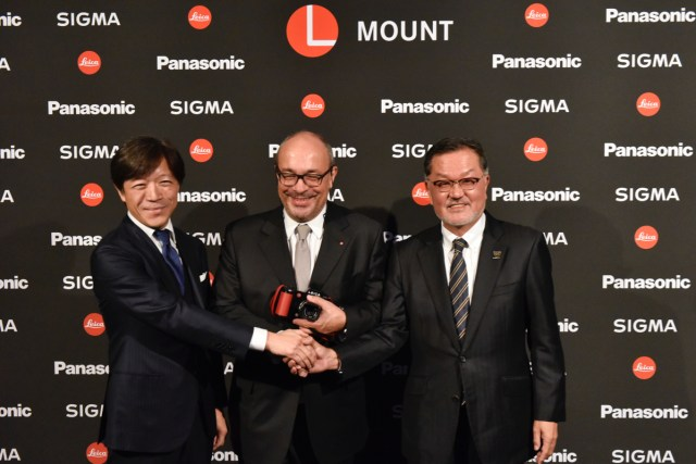 Panasonic, Leica and Sigma team up at photokina.